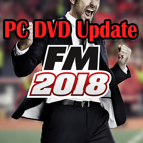 Football Manager 2018 Update – DVD PC