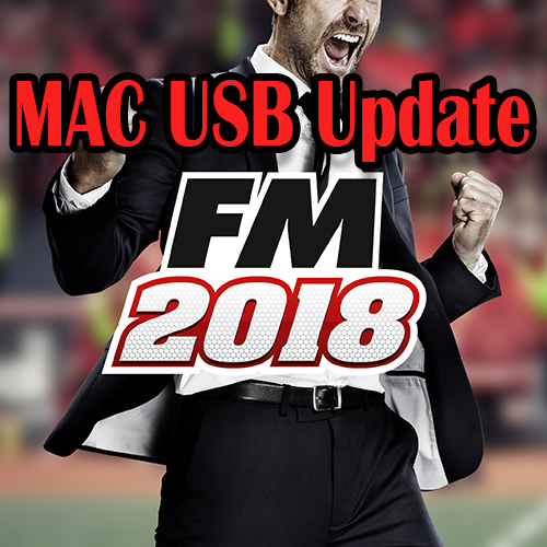 Football Manager 2018 Update – USB Stick Mac