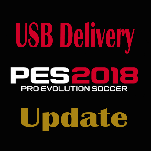 PES 2018 PS4 On USB Stick