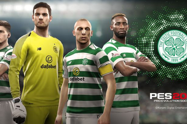 PES 2019 Scottish League & Celtic