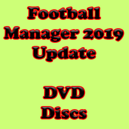 PC – Football Manager 2019 Update – DVD