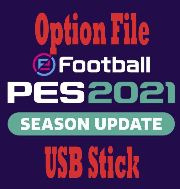 PES 2021 PS4 Update – USB Stick