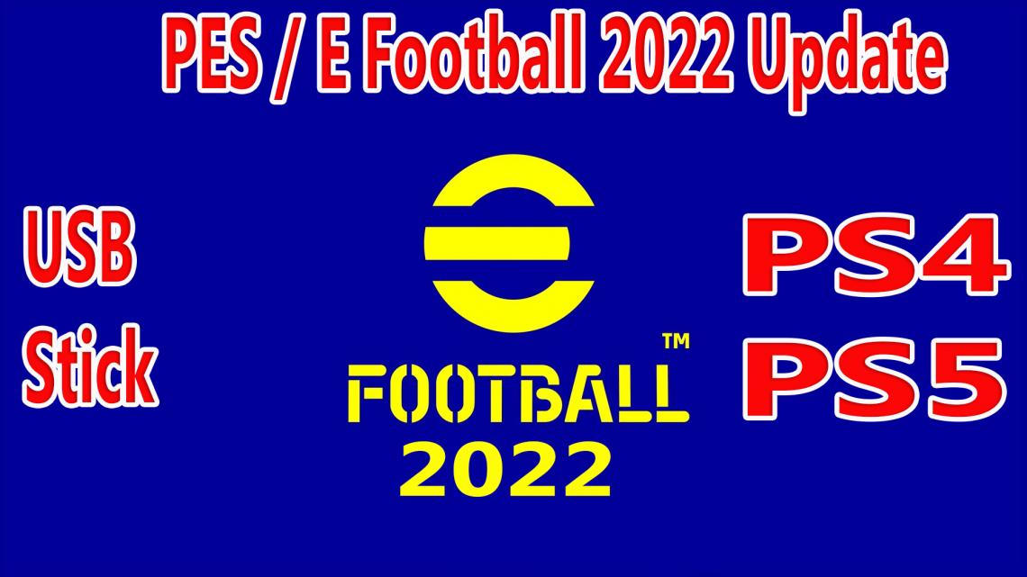 PES 2022 PS4 / PS5 USB Stick Pre Order
